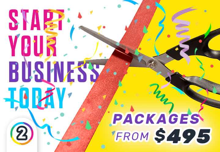 Start your business with professional branding from Design 2 Print!