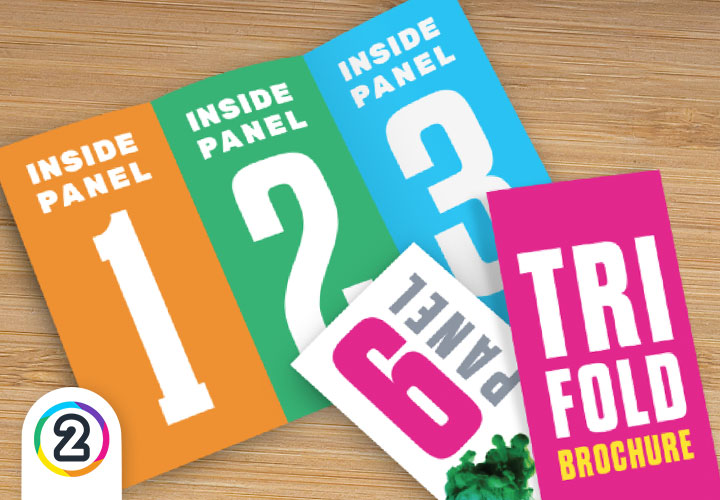 Buy A4 folded and printed brochures online Australia wide from Design 2 Print!