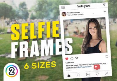 Selfie Frames / Props