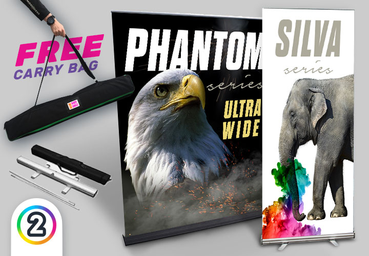 Get your Pull Up Exhibition Banners online Australia wide from Design 2 Print!