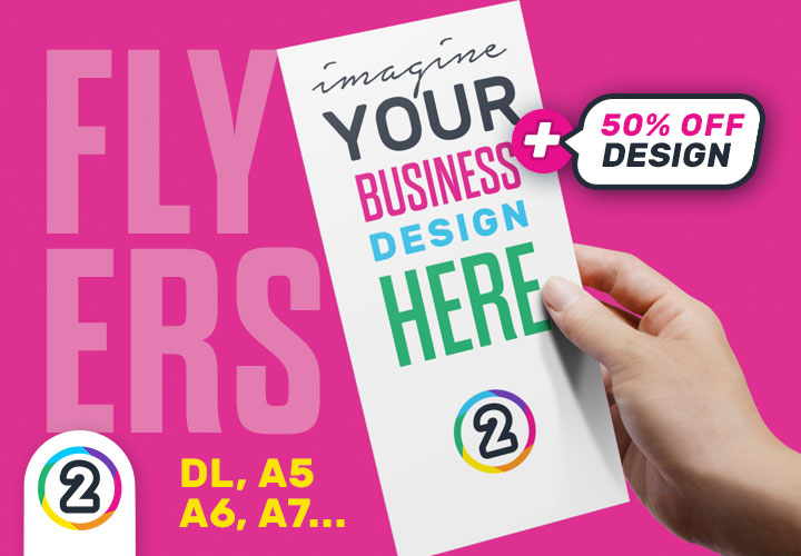 Order your Flyers online Australia wide from Design 2 Print Today!