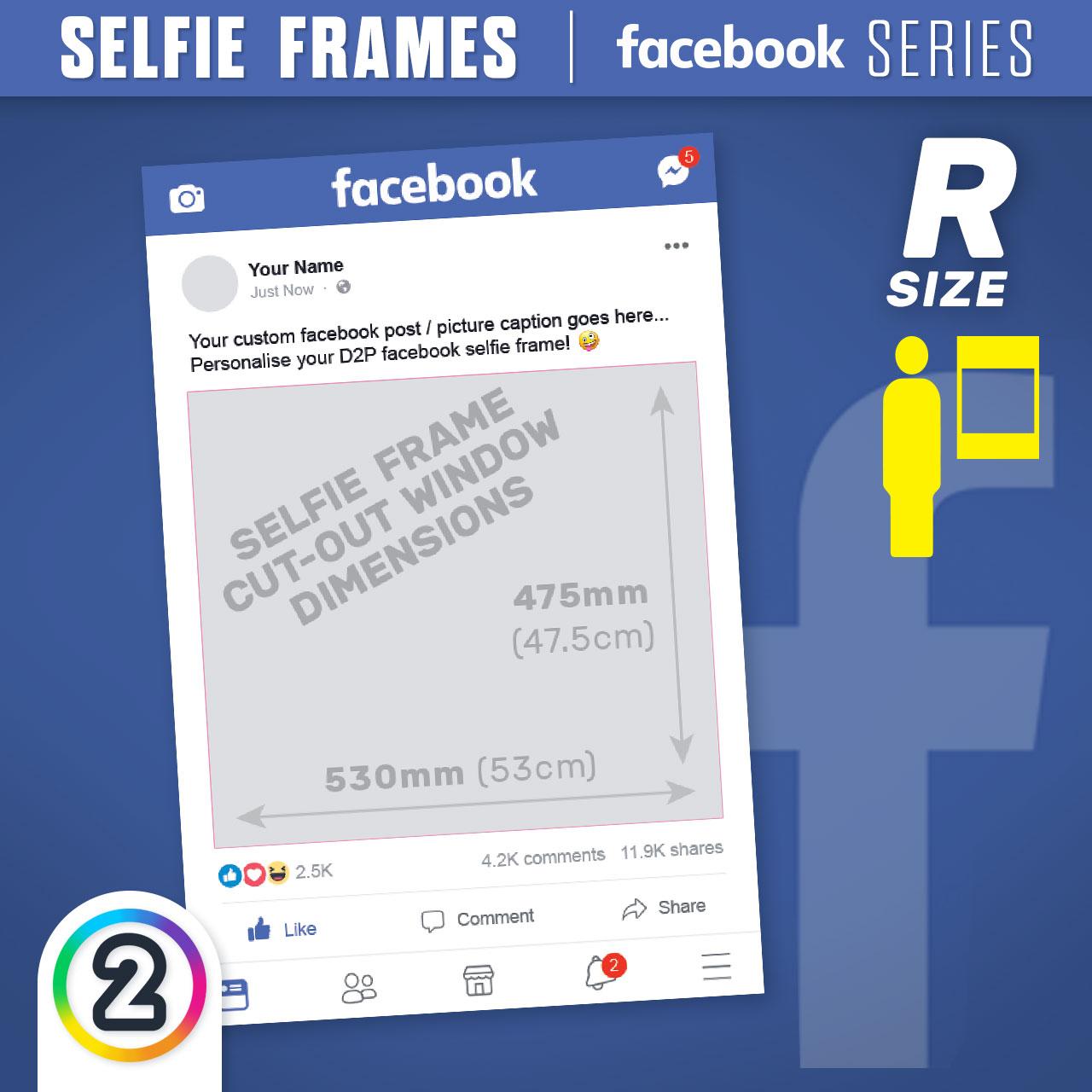 Buy Facebook Selfie Frames online Australia - from $65.00 | D2P (AU)