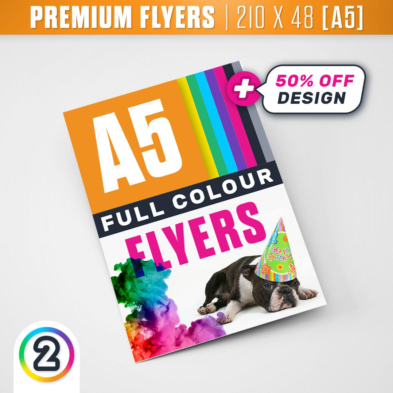 D2P Buy A5 Flyers Online Australia Full Colour