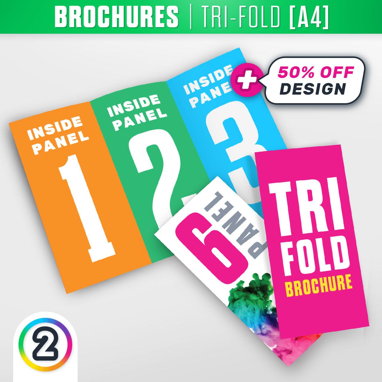Product Tri Fold Brochure: Order Tri-Fold A4 Brochures Online Australia