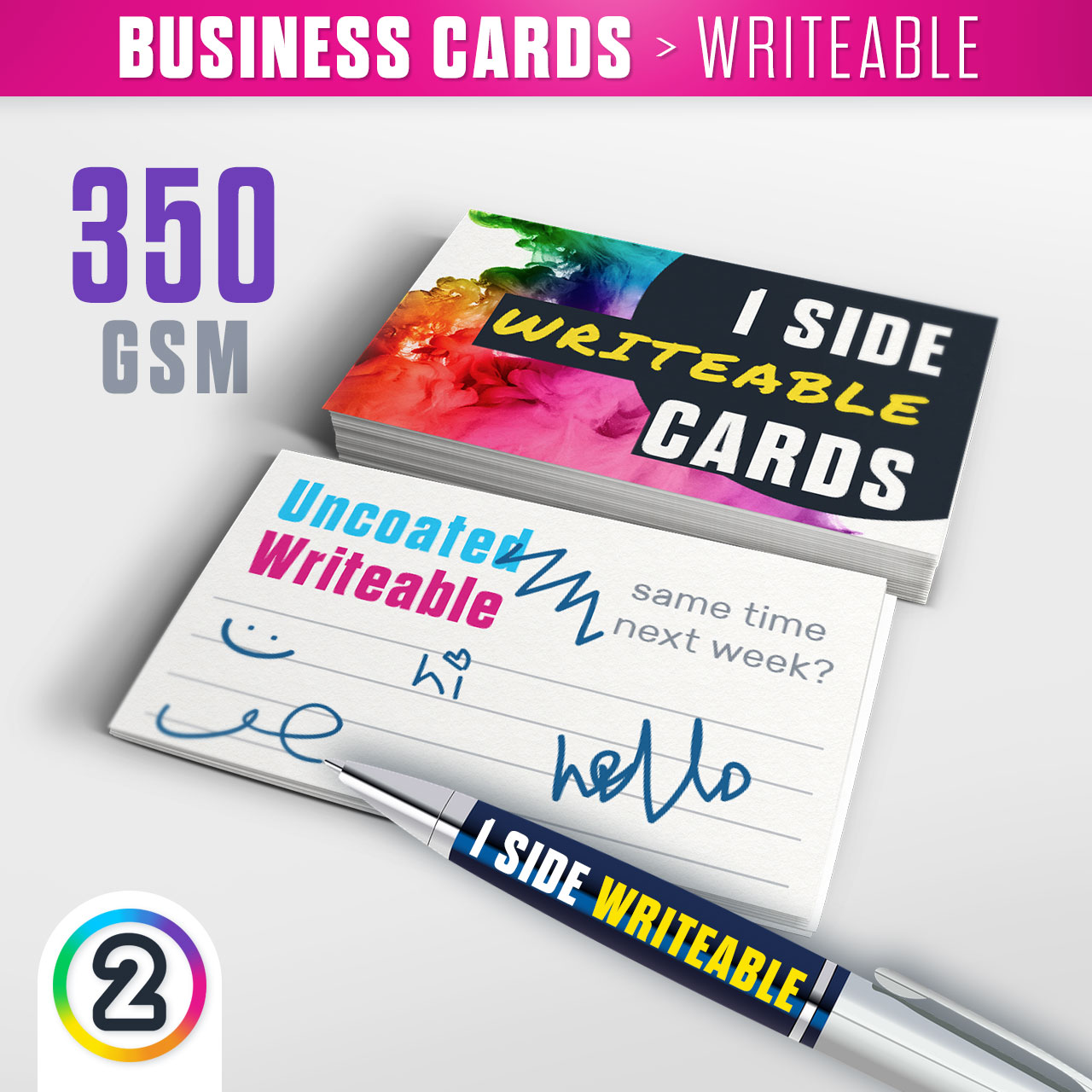 Order \'Writeable Business Cards / Loyalty Cards\' online Australia ...