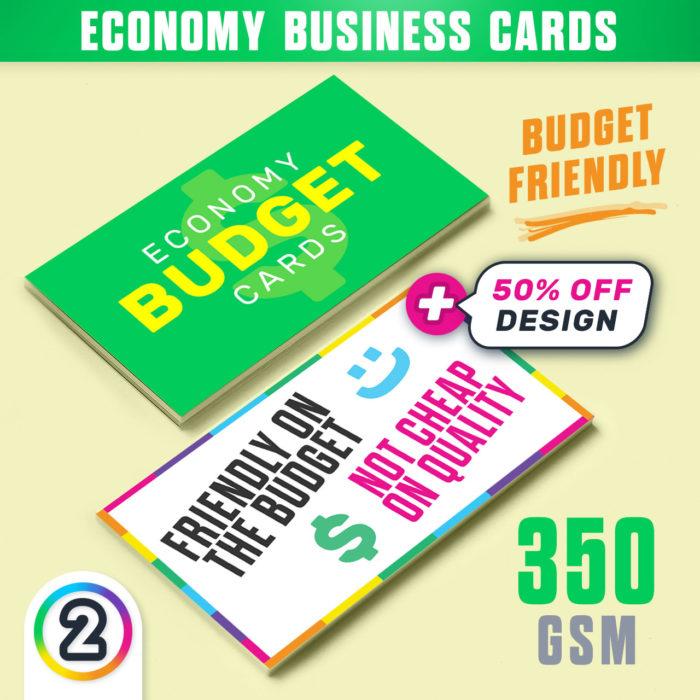 CHEAP Business Cards online Australia **Budget Cards** | D2P (AU)