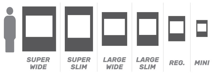 Selfie Frame Size Reference Guide